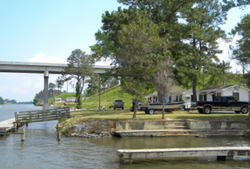 rentals - Canal Lakes Fish Camp on the Santee Cooper Lakes